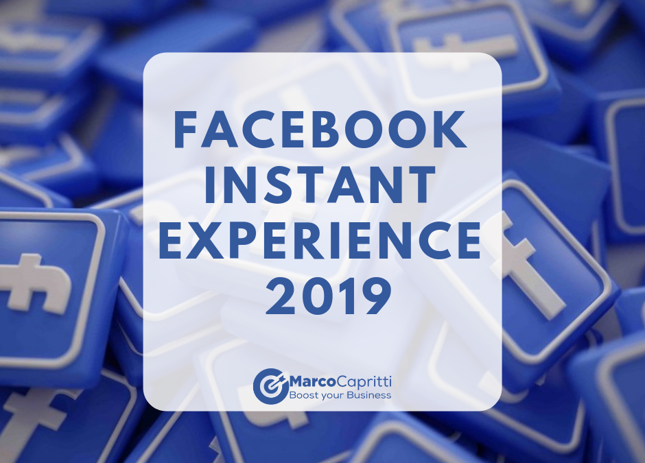 Facebook Instant Experience 2019